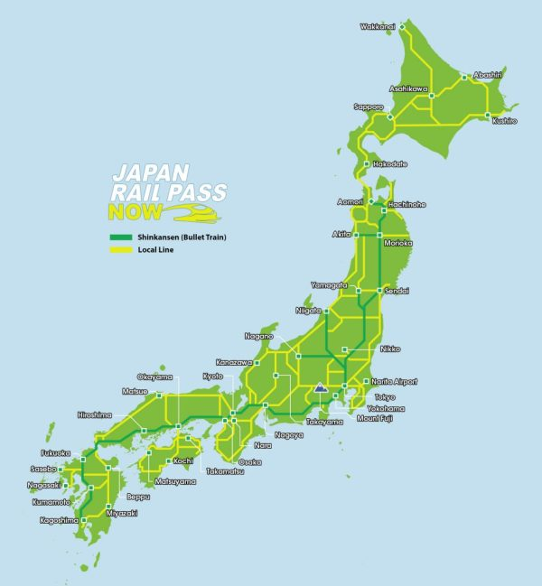 Japan-Rail-Pass-Coverage-Map