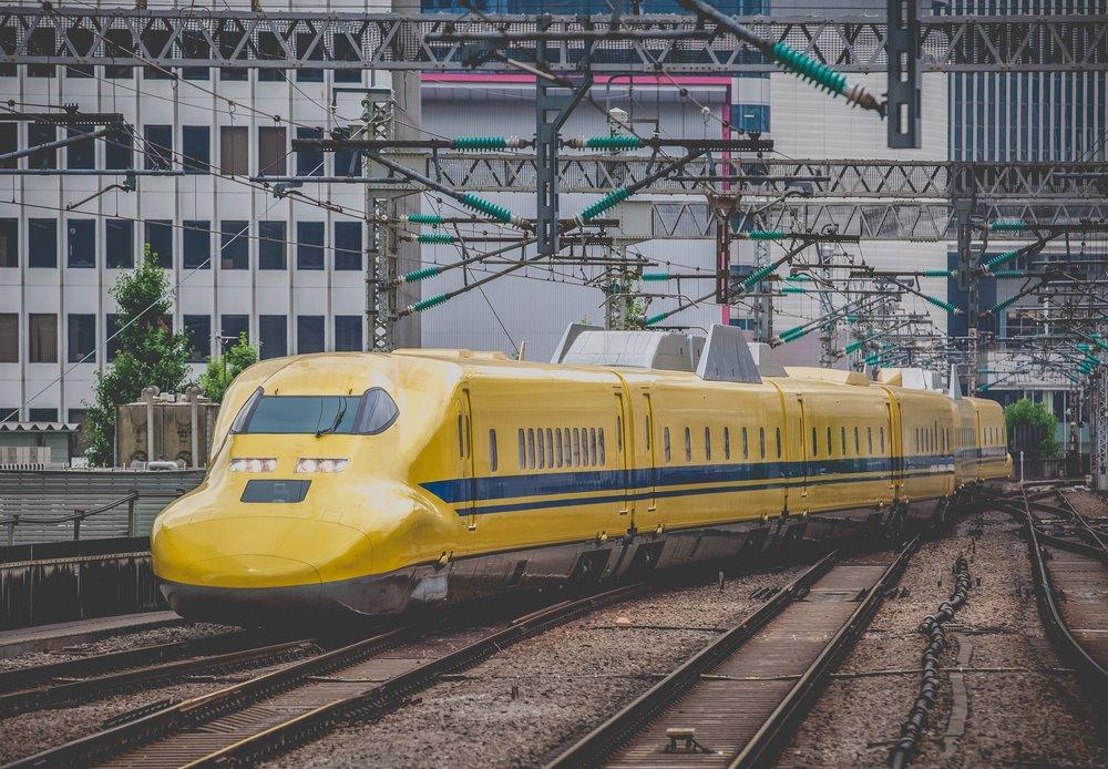 Doctor Yellow The high-speed test trains. Sakarin Sawasdinaka - Shutterstock.com