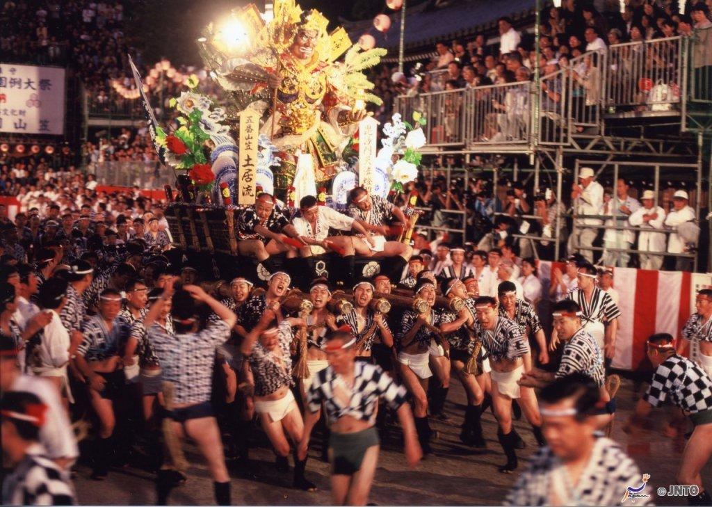 Fukuoka Gion Yamakasa Festival