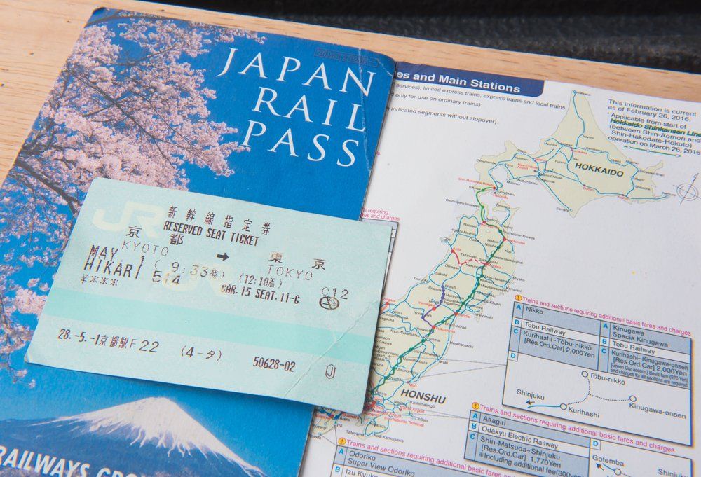 JR Ticket Japan rail pass